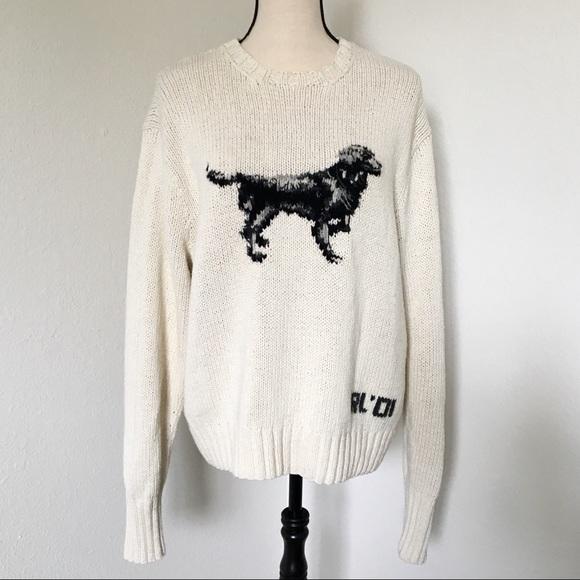 Polo By Ralph Lauren Sweaters Vintage Ralph Lauren Handknit Dog